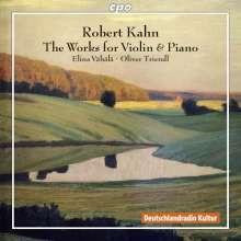 KAHN R.: Opere per violino e piano(int)