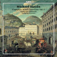 HAYDN J.M.:Complete wind Concertos - Vol.1