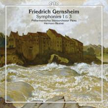 Gernsheim F.: Sinfonie Nn. 1 & 3