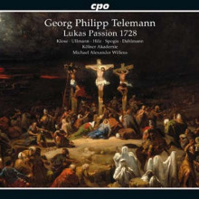 TELEMANN: Passione S.Luca TVWV 5:13