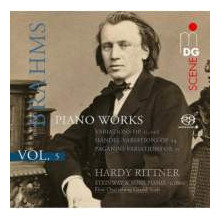 BRAHMS: Piano Works Vol.5