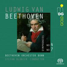 BEETHOVEN: Sinfonie NN.4 & 7