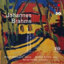 Brahms: Clarinet Trio & Clarinet Trio