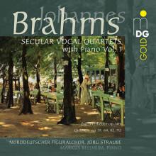 Brahms: Quartetti Vocali Profani - Vol.1