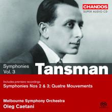 Tansman: Sinfonie Vol.3