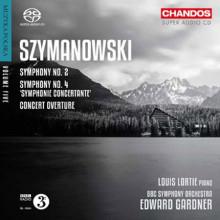 SZYMANOWSKI: Sinfonie NN.2 & 4 - Overture