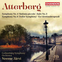 ATTERBERG: Sinfonie NN.4 & 6