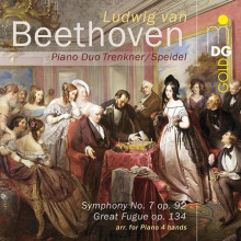 BEETHOVEN:Sinf. N.7 - arr per piano 4 mani
