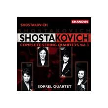 SHOSTAKOVICH: Quartetti per archi Vol.3