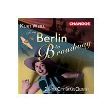 WEILL: Da berlino a Brodway