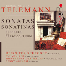 TELEMANN: Sonatas for Recorder and B.c.