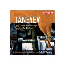 TANEYEV: Sinfonie NN. 2 & 4