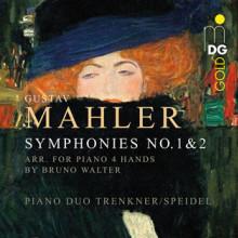 MAHLER: Sinfonie NN.1 & 2 - arrang x piano