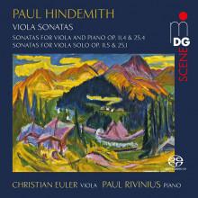 HINDEMITH: Sonate per viola e piano