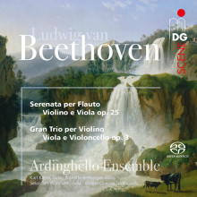 BEETHOVEN: Serenade op.25 & String trio