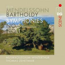 MENDELSSOHN - BARTHOLDY: Sinfonie NN.1 & 5