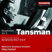 TANSMAN: Sinfonie Vol.2