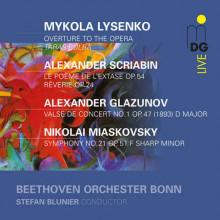 LYSENKO - MIASKOVSKY: Opere orchestrali