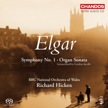 ELGAR: Sinfonia N.1 - Organ sonata