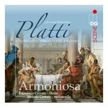 PLATTI G.B.: Triosonate per violino.....