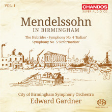 MENDELSSOHN IN BIRMINGHAN - Vol.1