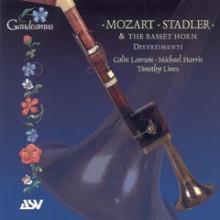STADLER/MOZART:Opere x corno di bassetto