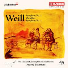 WEIL: Sinfonia NN. 1 & 2