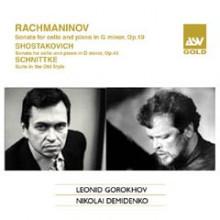 RACHMANINOV: Sonate per violoncello e pf