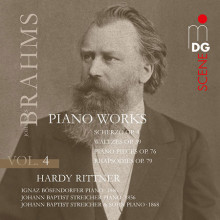 BRAHMS: Piano Works Vol.4