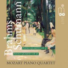 BRAHMS - SCHUMANN:  Quartetti per piano