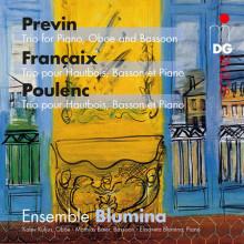 PREVIN - FRANCAIX - POULENC: Trii