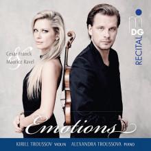 FRACK - RAVEL: opere per violino e piano