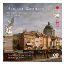 BAERMANN H.:Clarinet Quintets Opp.19 - 22