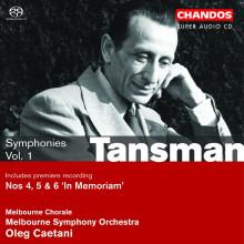 Tansman: Sinfonie Vol.1
