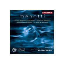Menotti: Concerto Per Violino: La Morte