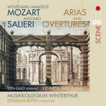 MOZART - SALIERI: Arie & Overtures