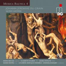 Du Grain J: Cantate - Mus. Baltica - Vol.4