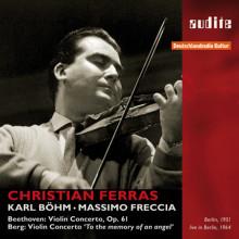 BEETHOVEN - BERG: Concerti per violino