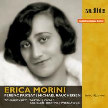 ERICA MORINI: Recital per violino e piano