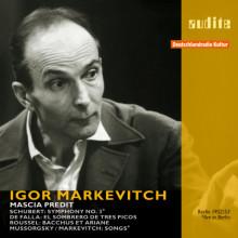 Markevitch Dirige Schubert - De Falla - Etc