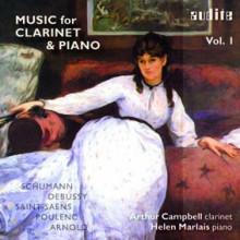 Aa.vv. Musica Per Clarinetto E Piano Schumann - Debussy - Saint - Saens - Arnold