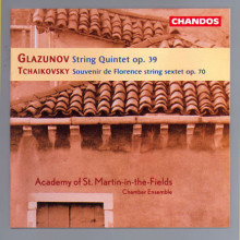 GLAZUNOV - TCHAIKOVSKY:Musica da camera