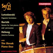 BARTOCK - HELWEG: Percussioni e piano