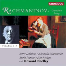 RACHMANINOV: Canzoni Vol.3
