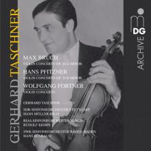 Bruch - Pfitzner - Fortner:violin Concertos