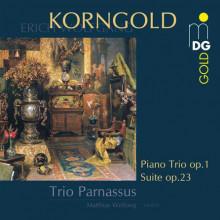 KORNGOLD: Piano Trio op.1 - Suite op.23