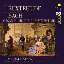 BUXTEHUDE - BACH:Organ Music for Christmas