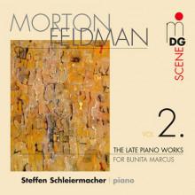 FELDMAN: Late Piano Works Vol. 2