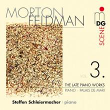 FELDMAN: Late Piano Works Vol. 3