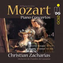 MOZART: Concerti per piano Vol.4